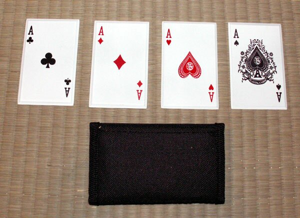 ''4 of a Kind'' - SS card throwers
