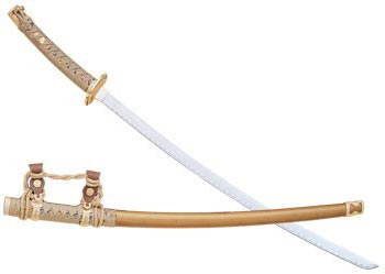 Ceremonial Samurai Sword - Gold