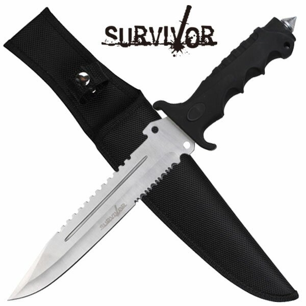 Master Cutlery SURVIVOR Hunting Knife Serrated