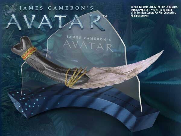 Navi Curved Dagger - Avatar movie