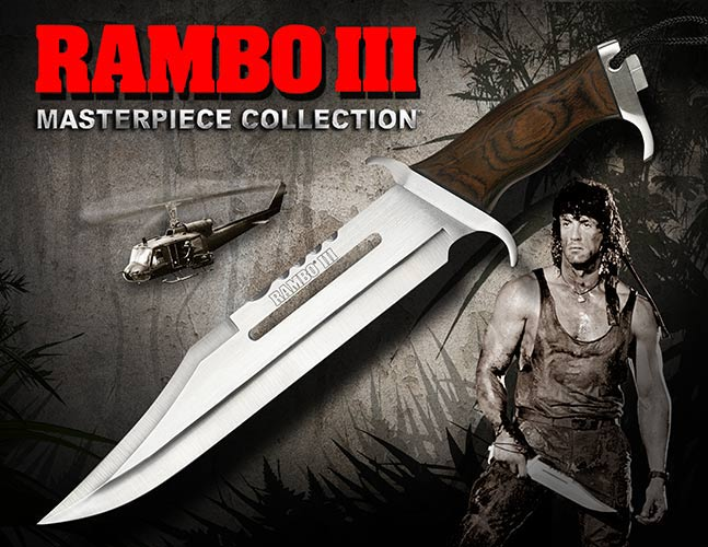 Rambo III Standard Edition Knife Hollywood Collectibles Group