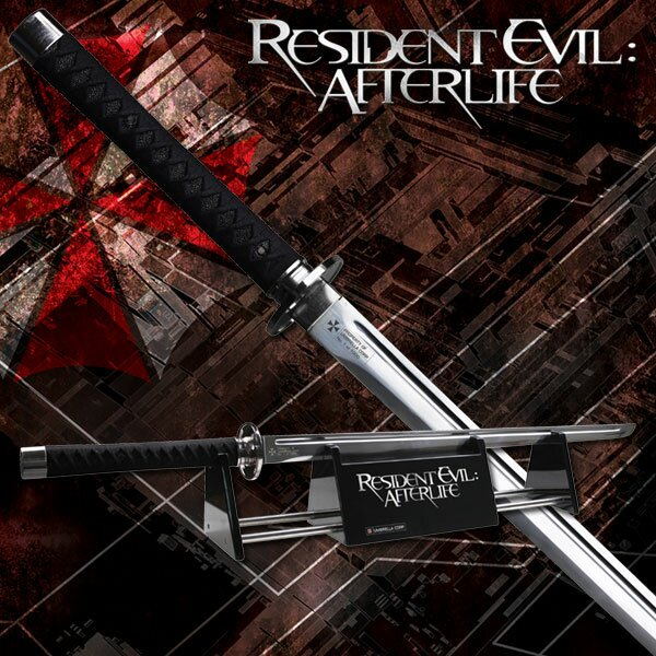 Resident Evil Afterlife Sword