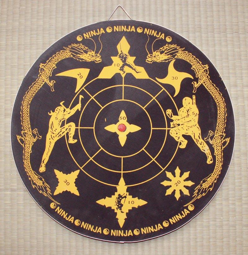 Target Board For Ninja Stars