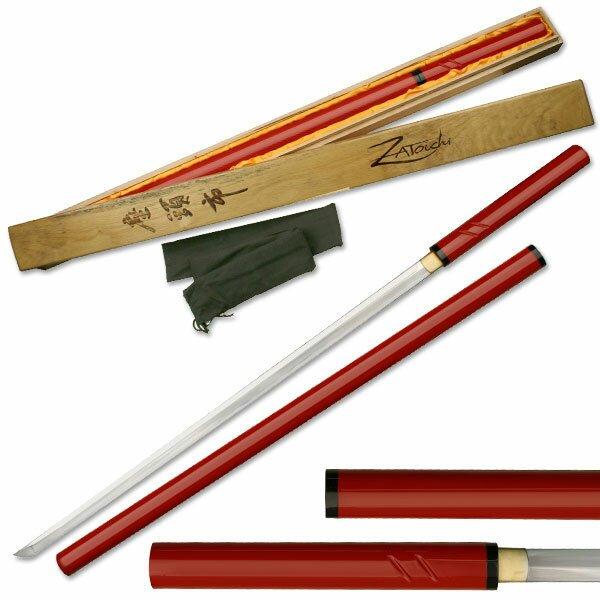 Zatoichi Hand Forged Sword Red